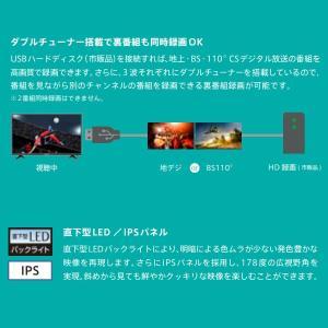 在庫限り 【メーカー再生品・3ヶ月保証】 32BK1ハイセンス 32V型 ハイビジョンスマート液晶テレビ (外付けHDD録画対応) gioncard 04