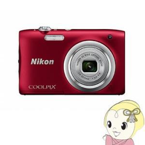 ニコン デジタルカメラ COOLPIX A100 [レッド] /srm gioncard