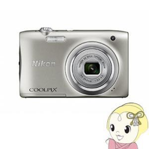 ニコン デジタルカメラ COOLPIX A100 [シルバー] /srm gioncard