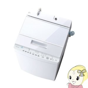 東芝 全自動洗濯機 ウルトラファインバブル ZABOON ザブーン 7kg ホワイト AW-7D9-...