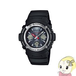 在庫僅少 【逆輸入品】 カシオ 腕時計 G-SHOCK 電波ソーラー AWG-M100-1A|gioncard