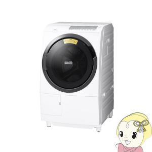 【設置込】日立 ヒートリサイクル 風アイロン ビッグドラム 洗濯乾燥機10kg乾燥6kg 左開き ホワイト BD-SG100FL-W/srm gioncard