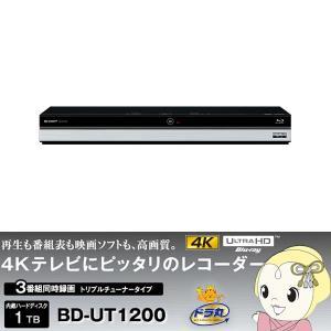 ■BD-UT1200 シャープ AQUOS ブルーレイディスクレコーダー HDD1TB  ドラ丸 3チューナー|gioncard