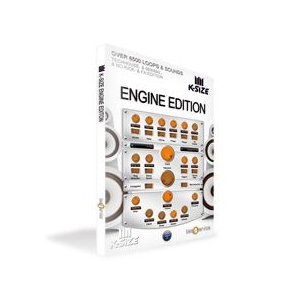 ■BS455 クリプトン・フューチャー・メディア 音楽ソフト K-SIZE ENGINE EDITION|gioncard