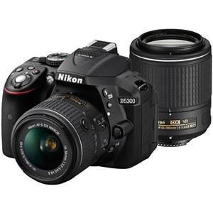 ニコン デジタル一眼レフカメラ D5300 ダブルズームキット2 [ブラック]