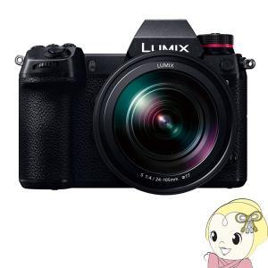 パナソニック ミラーレスカメラ LUMIX DC-S1M 標準ズームSレンズキット/srm gioncard