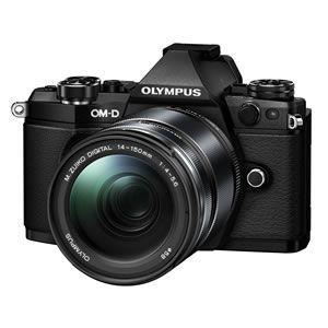 OLYMPUS デジタル一眼レフカメラ OM-D E-M5 Mark II 14-150mm II レンズキット [ブラック]/srm|gioncard