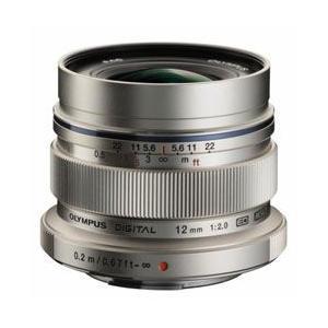 オリンパス 単焦点レンズ M.ZUIKO DIGITAL ED 12mm F2.0 [シルバー]