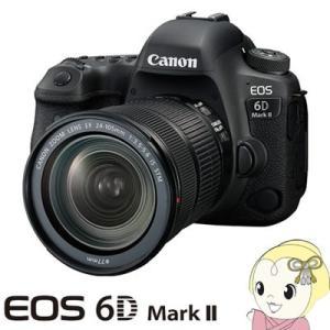 キャノン デジタル一眼レフカメラ EOS 6D Mark II EF24-105 IS STM レンズキット/srm|gioncard