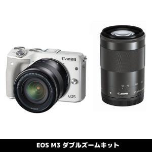 キャノン ミラーレス一眼レフカメラ EOS M3 ダブルズー...