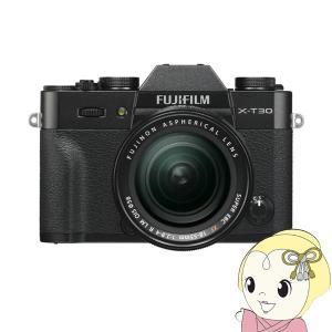 FUJIFILM ミラーレス 一眼カメラ X-T30 18-55mmレンズキット [ブラック] FX...