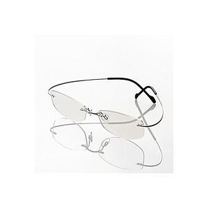 エレコム エクリア ブルーライト対策メガネ(超軽量) G-BUC-L01LSV|gioncard