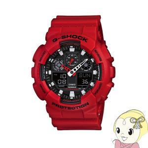 ■【あすつく】【在庫あり】【逆輸入品】 カシオ 腕時計 G-SHOCK GA-100B-4A|gioncard