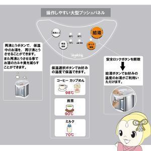 在庫あり GD-UP220 Vegetable ベジタブル 電動給湯ポット 2.2L/srm|gioncard|03