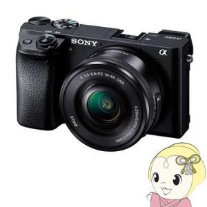 ソニー デジタル一眼カメラ α6300 ILCE-6300L パワーズームレンズキット/srm