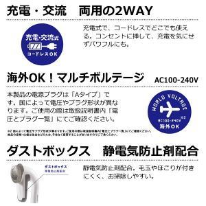 KD901-W テスコム 毛玉クリーナー 毛だまトレタ 日本製大型刃 充電交流両用/srm|gioncard|04