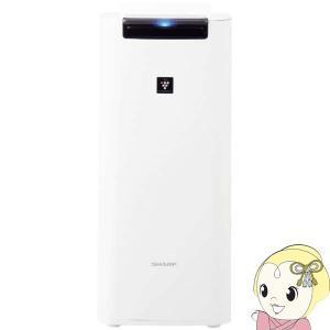 ■KI-JS40-W シャープ 加湿空気清浄機 「プラズマクラスター25000」「PM2.5対応」「目安約10畳」|gioncard