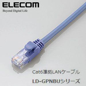 ELECOM(エレコム) Cat6準拠LANケーブル LD-GPN/BU03 gioncard