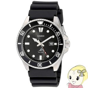在庫僅少 【逆輸入品】 カシオ 腕時計 スタンダード ダイバーウォッチ ブラック メンズ MDV-106-1A/srm|gioncard