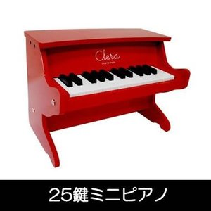 【在庫僅少】MP1000-25K-RD クレラ 25鍵ミニピアノ レッド gioncard