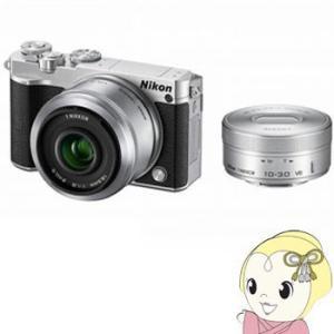ニコン ミラーレス一眼レフカメラ Nikon 1 J5 ダブ...
