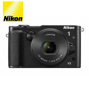 ニコン ミラーレス一眼レフカメラ Nikon 1 V3 標準パワーズームレンズキット