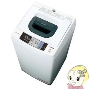NW-50A-W 日立 全自動洗濯機5kg 風脱水 ピュアホワイト|gioncard