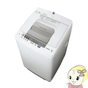 洗濯機 日立 全自動洗濯機 7kg 白い約束 ホワイト NW-R705-W/srm gioncard