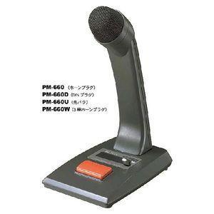 ■PM-660W TOA 卓上型マイク リモート機能付 案内用マイクロホン|gioncard