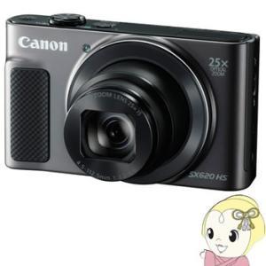 キヤノン コンパクトデジタルカメラ PowerShot SX620 HS [ブラック] 【Wi-Fi機能】【手ブレ補正】/srm|gioncard