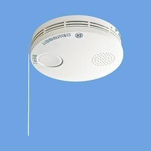 【あすつく】【在庫あり】SHK38455 パナソニック けむり当番 電池式 単独型 薄型 住宅用火災警報器|gioncard