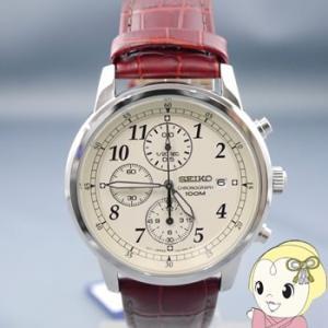 在庫僅少 [逆輸入品] SEIKO クォーツ 腕時計 クロノグラフ SNDC31P1/srm|gioncard