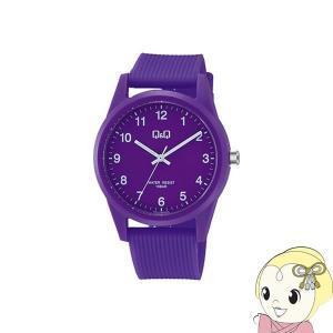 VS40-008 シチズン 腕時計 Q&Q 10気圧防水 カラーウォッチ ユニセックス パープル|gioncard