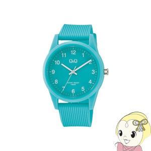 VS40-010 シチズン 腕時計 Q&Q 10気圧防水 カラーウォッチ ユニセックス ミントグリーン|gioncard