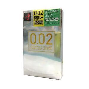 うすさ均一 0.02EX レギュラーサイズ 6個入|gionsakura