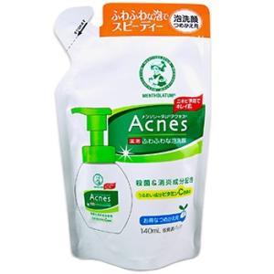 メンソレータムアクネス 薬用ふわふわな泡洗顔 つめかえ用 140ml|gionsakura