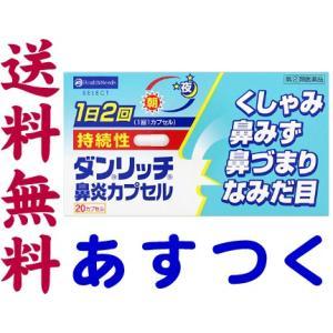 ダンリッチ持続性鼻炎カプセル 20カプセル|gionsakura