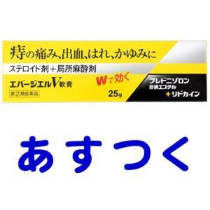 エバージエルV軟膏 25g (ボラギノールのジェネリック)|gionsakura