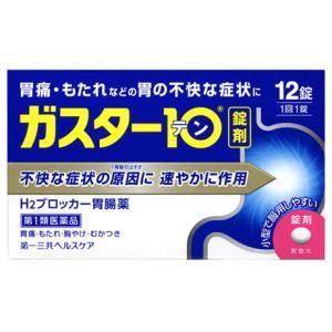 ガスター10 12錠|gionsakura