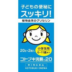 コトブキ浣腸20 小学生用 2個入|gionsakura