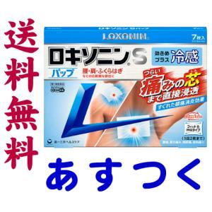 ロキソニンSパップ 冷感 市販薬 7枚入|gionsakura