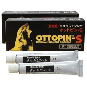 オットピン-S 軟膏 5g入×2本セット テストステロン剤市販薬