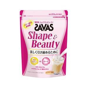 ザバス シェイプ&ビューティー ミルクティー風味 210g(15食分)|gionsakura