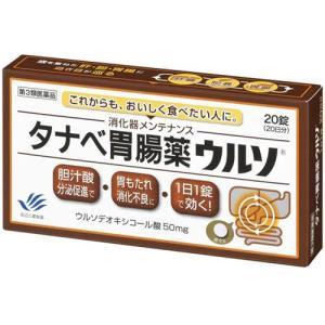 タナベのウルソ 胃腸薬 20錠