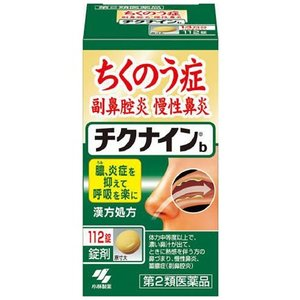 ちくのう症薬 チクナイン錠 112錠 小林製薬|gionsakura