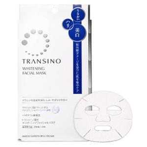 トランシーノ 薬用ホワイトニングフェイシャルマスク 4枚|gionsakura