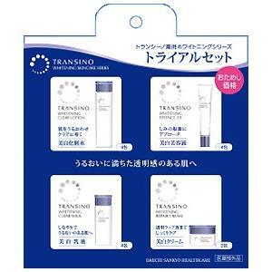 トランシーノ 薬用ホワイトニングシリーズトライアルセット 4アイテム|gionsakura