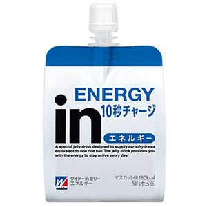ウイダーinゼリー エネルギー(マスカット味)180g×6個セット|gionsakura