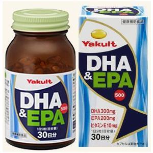 ヤクルト DHA&EPA500 150粒|gionsakura