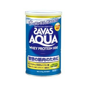 ザバス アクア ホエイプロテイン100 グレープフルーツ風味 378g(18食分)|gionsakura